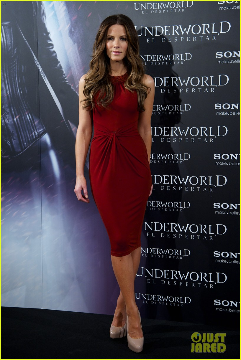 kate beckinsale underworld awakening madrid photocall 032621773