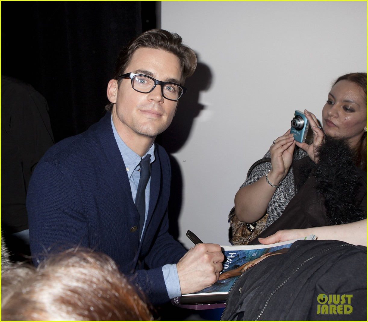 matt bomer apple store talk 052618933
