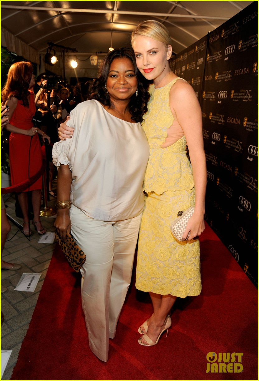 charlize theron bafta tea octavia spencer 01