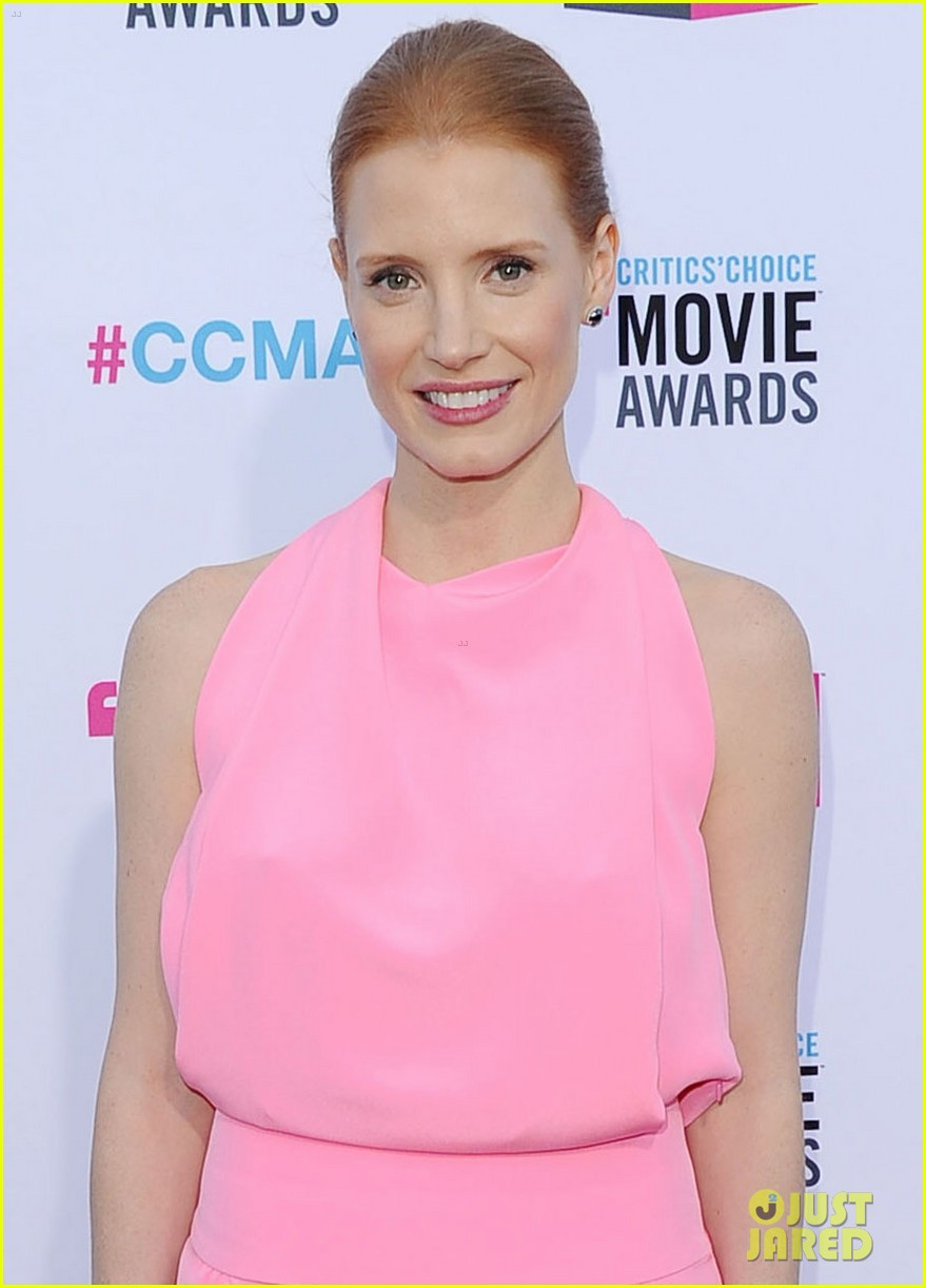 jessica chastain critics choice awards 2012 03