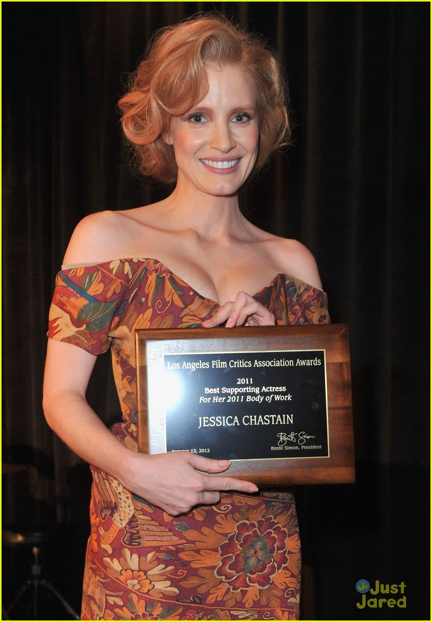 jessica chastain critics award 15