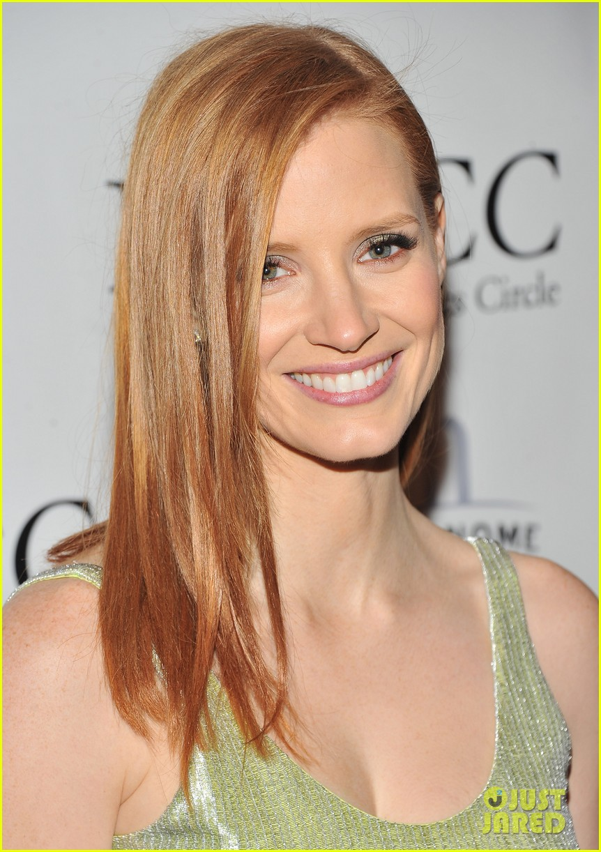 jessica chastain critics circle awards 01