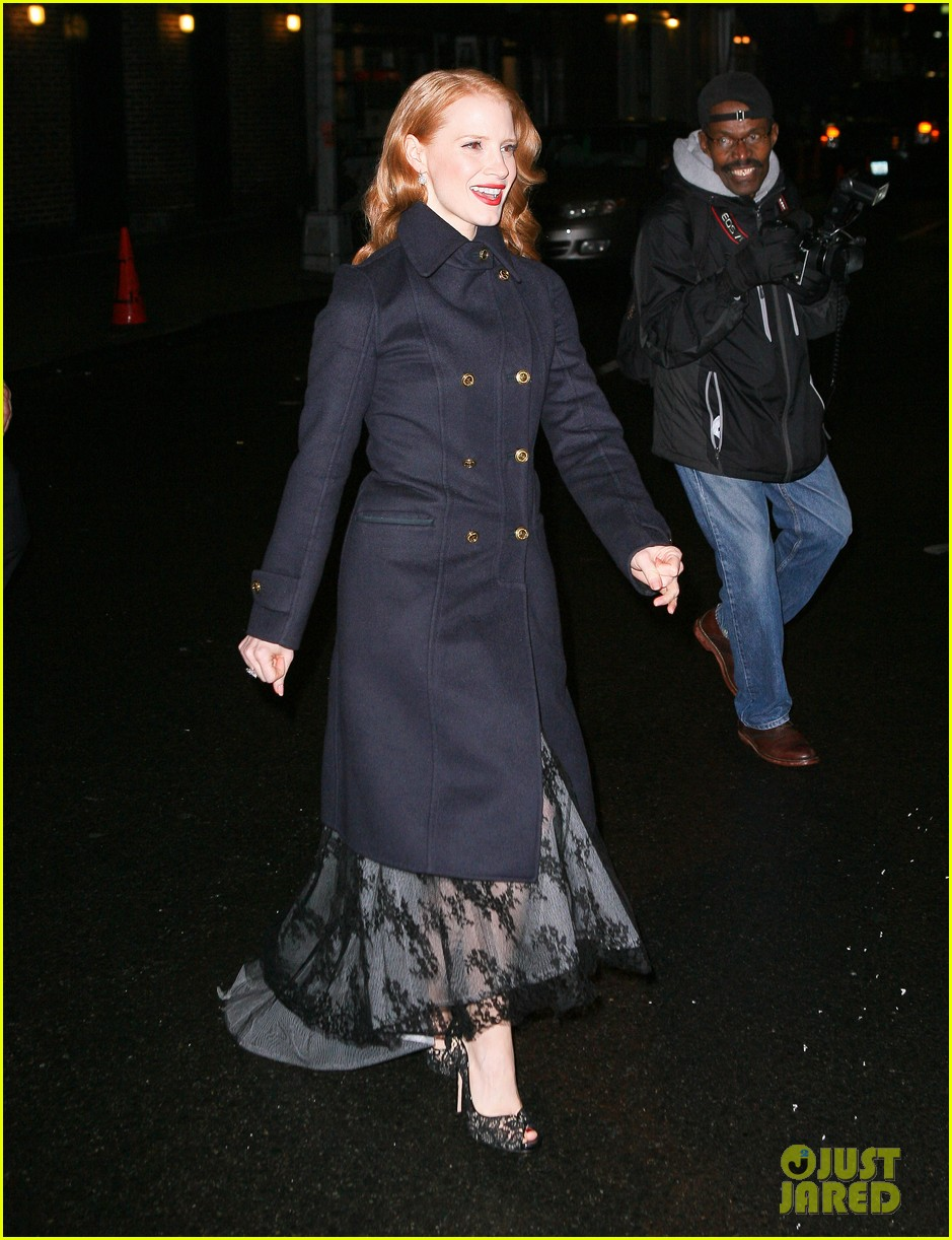jessica chastain letterman 02