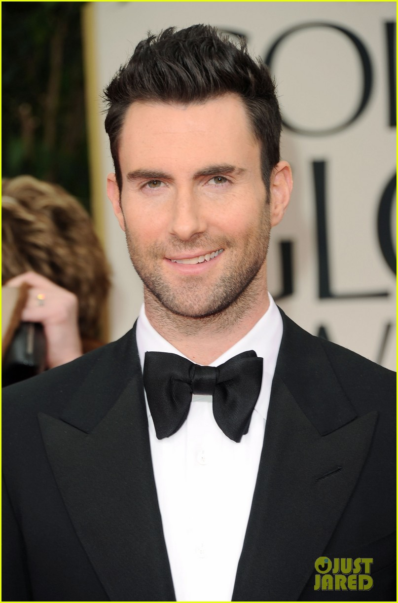 Full Sized Photo Of Bradley Cooper Adam Levine Golden