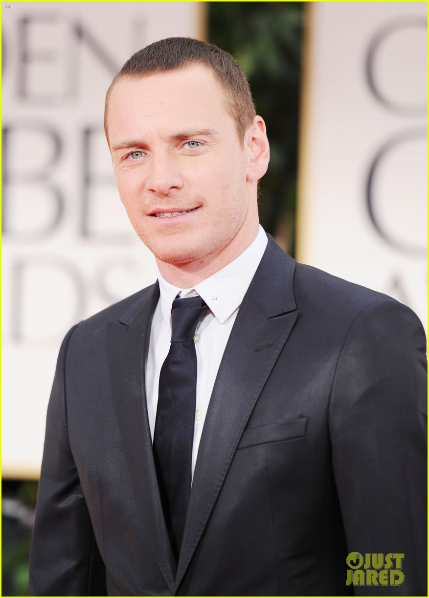 michael fassbender golden globes 2012 04