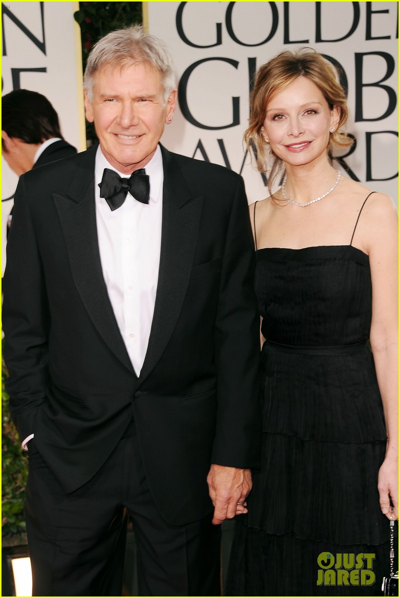 harrison ford calista golden globes 01