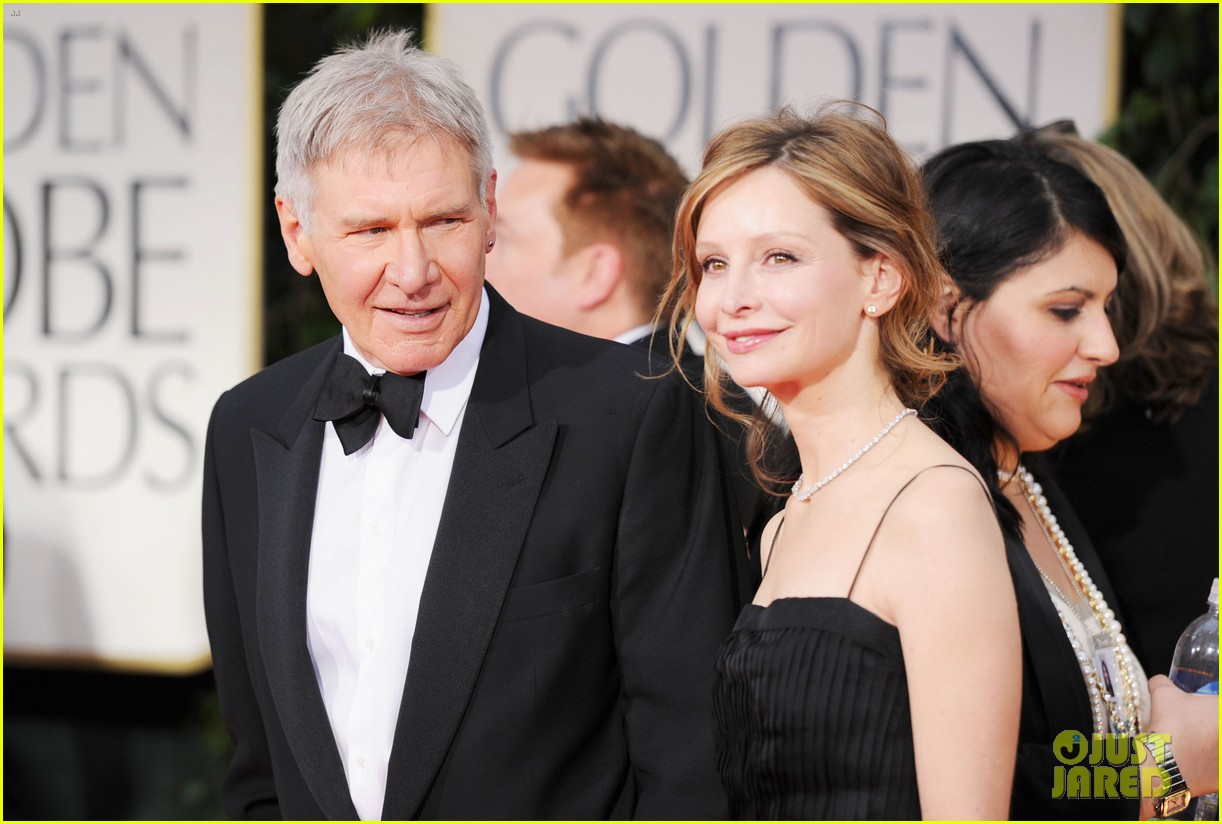 harrison ford calista golden globes 022618571