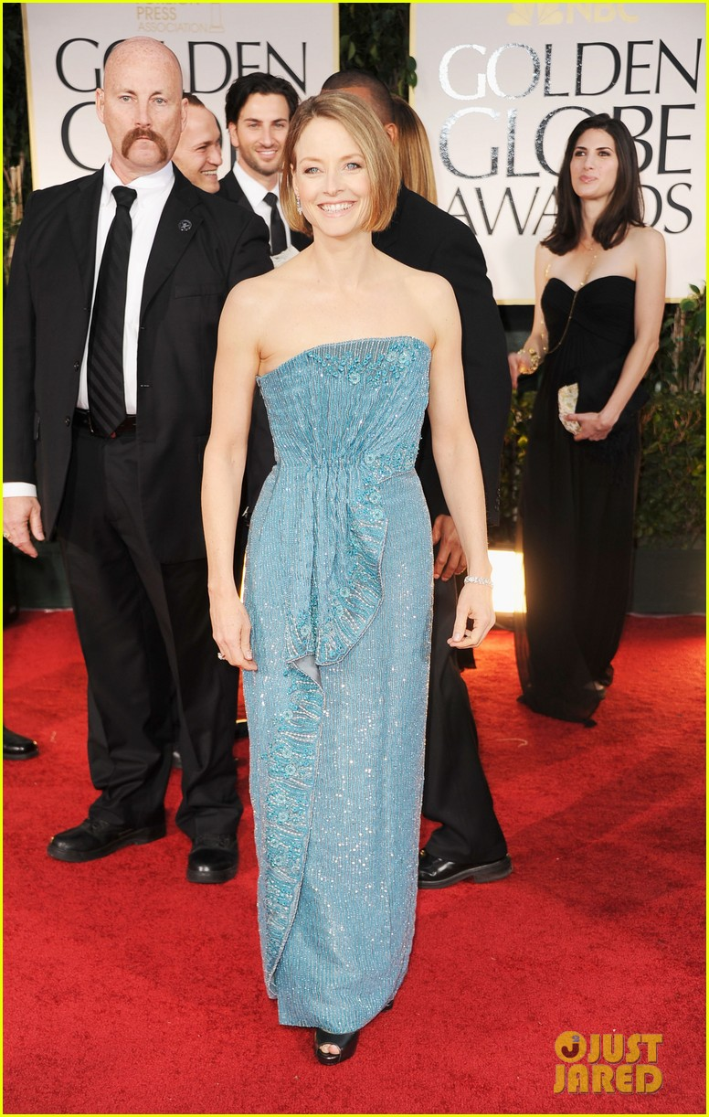 jodie foster golden globes 06
