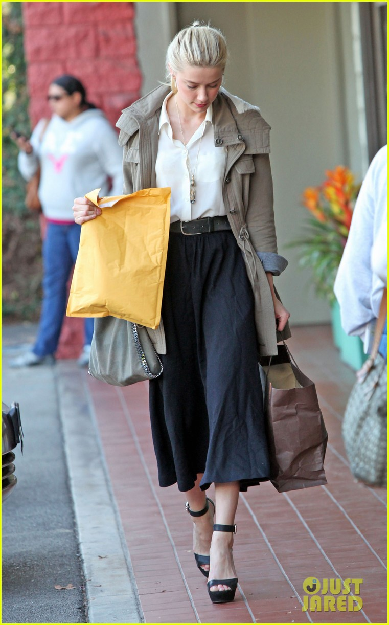 amber heard shopping errands 02