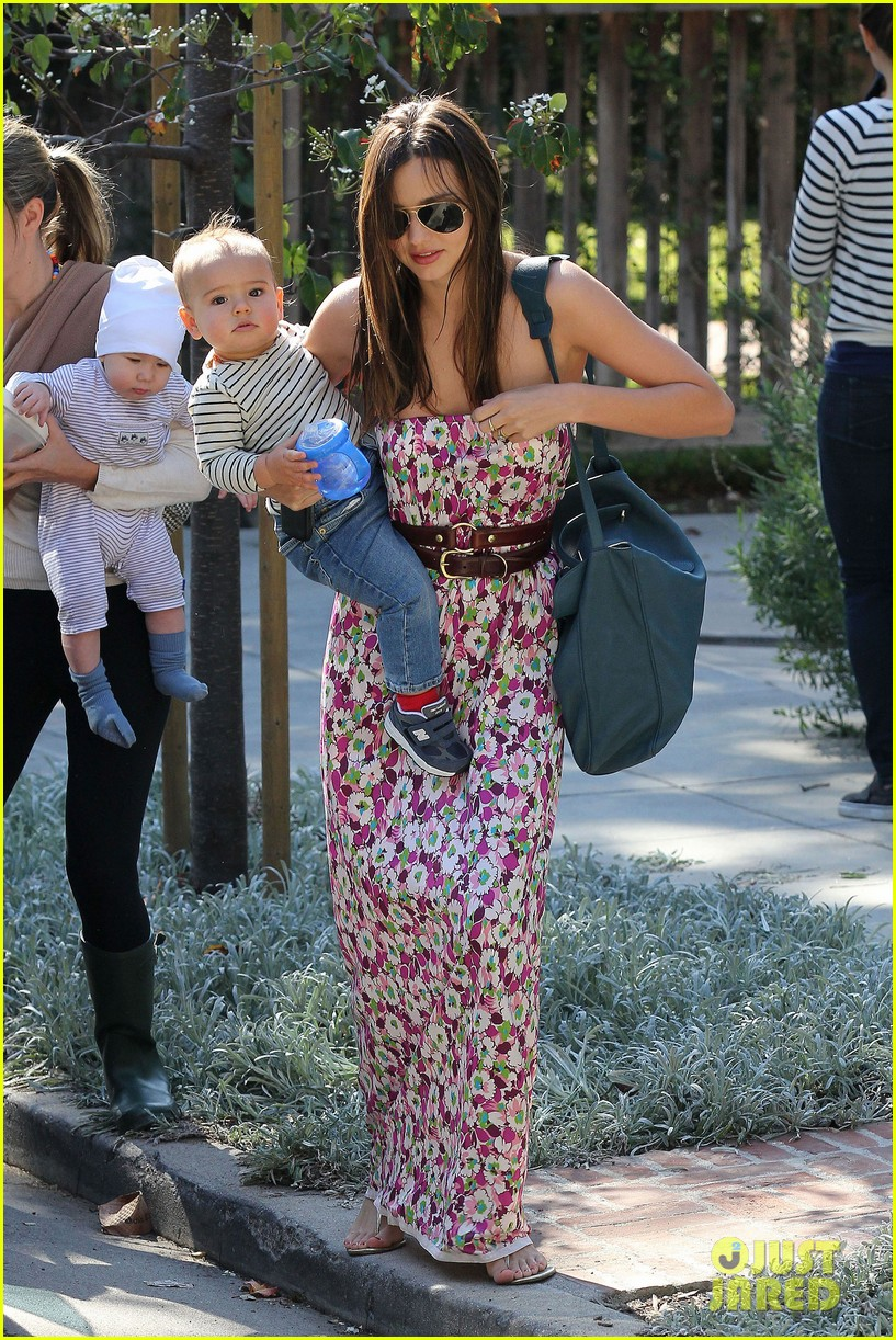 miranda kerr flynn playdate 02