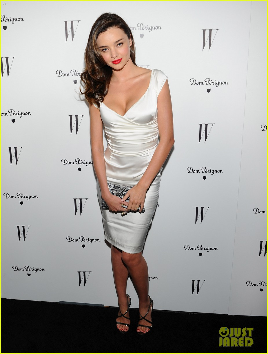 miranda kerr w mag party 02