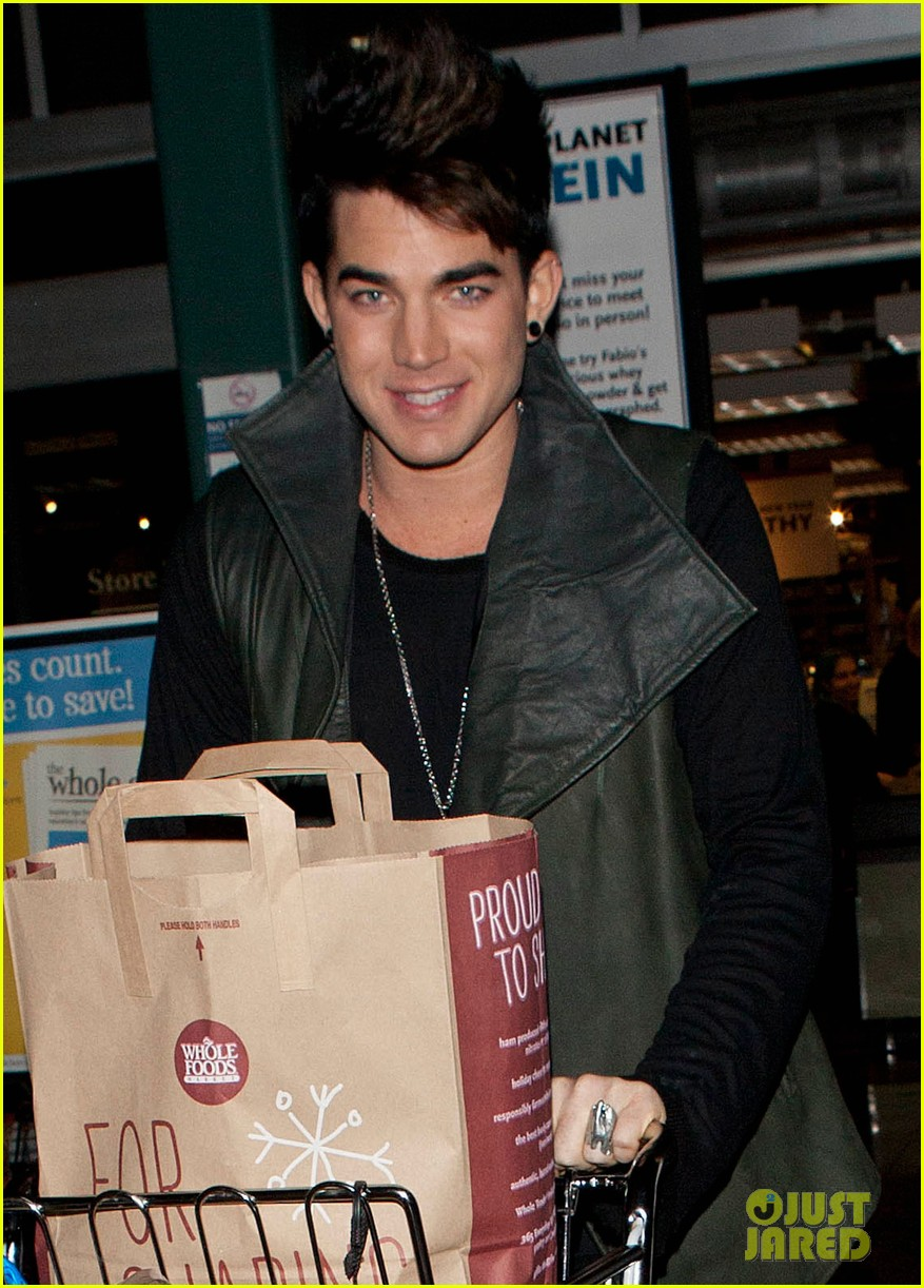 adam lambert sauli koskinen grocery shopping 04
