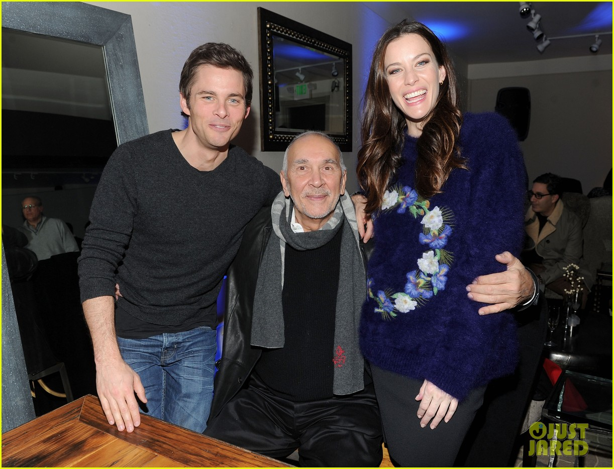 liv tyler james marsden robot and frank dinner 04