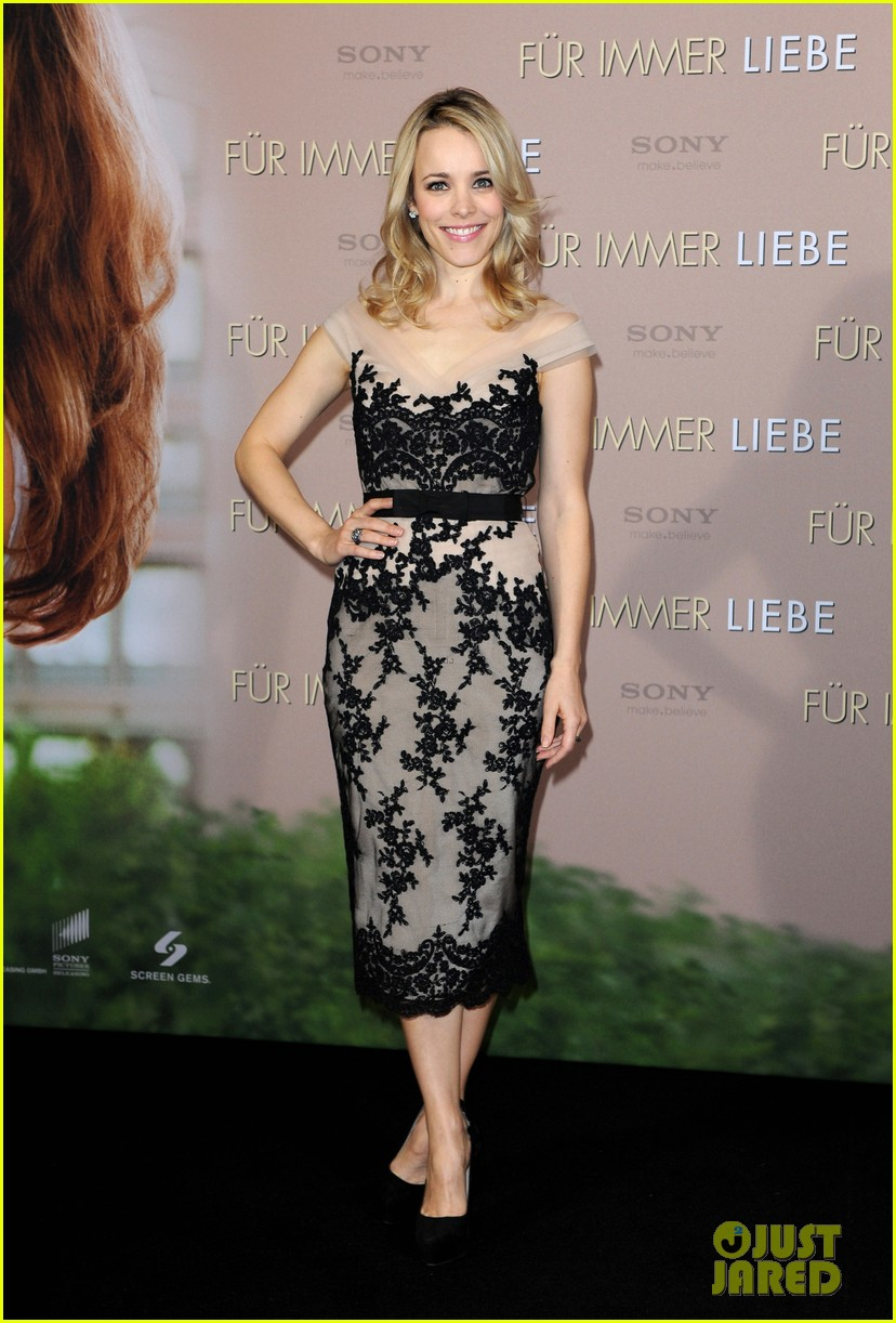 rachel mcadams channing tatum the vow german photo call 01