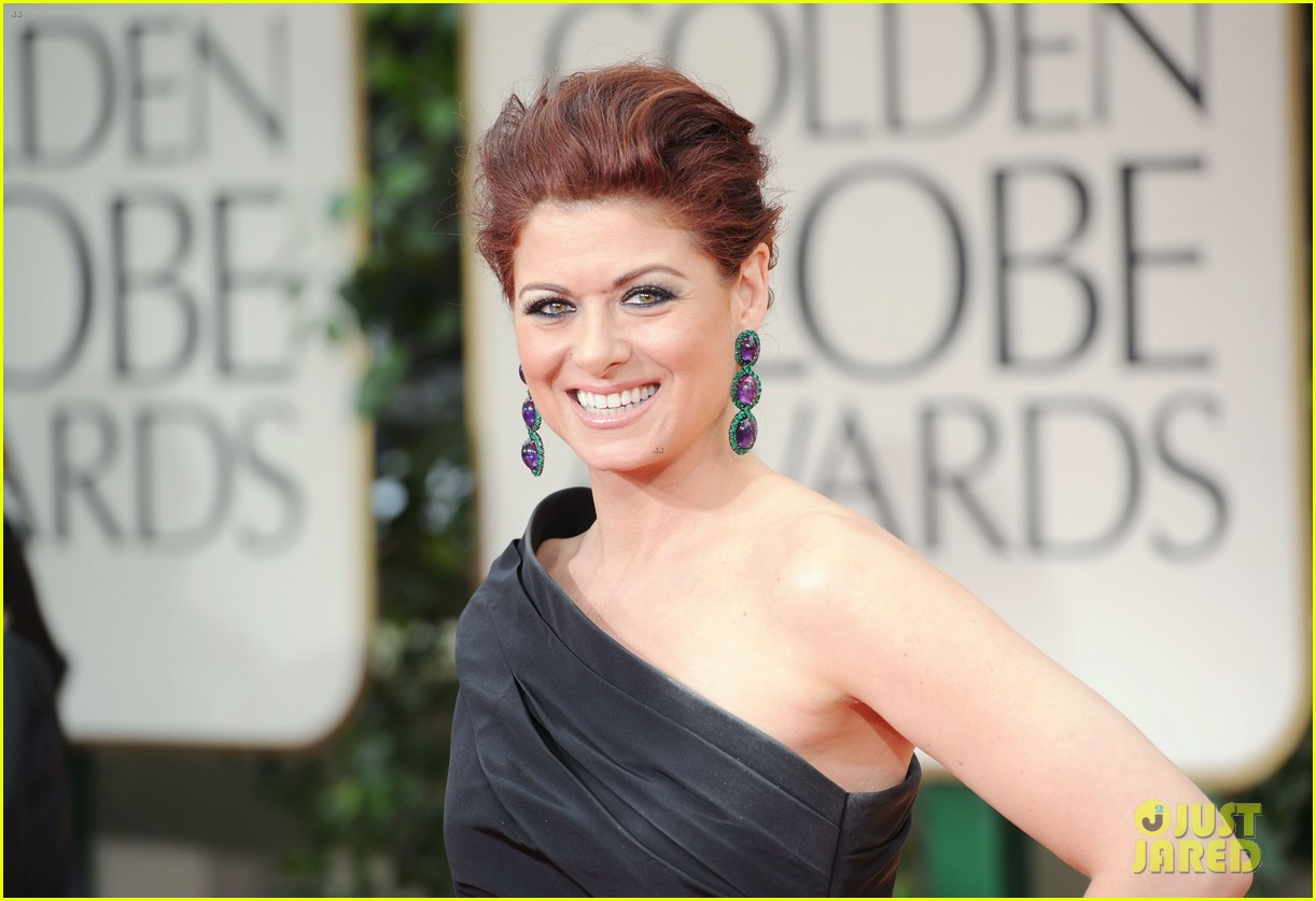 debra messing golden globes 2012 01