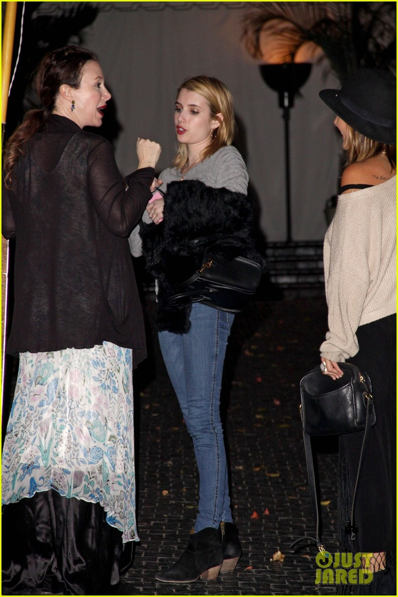 emma roberts chord overstreet night out 02