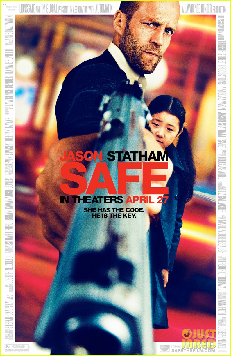 jason statham new safe poster 012623076