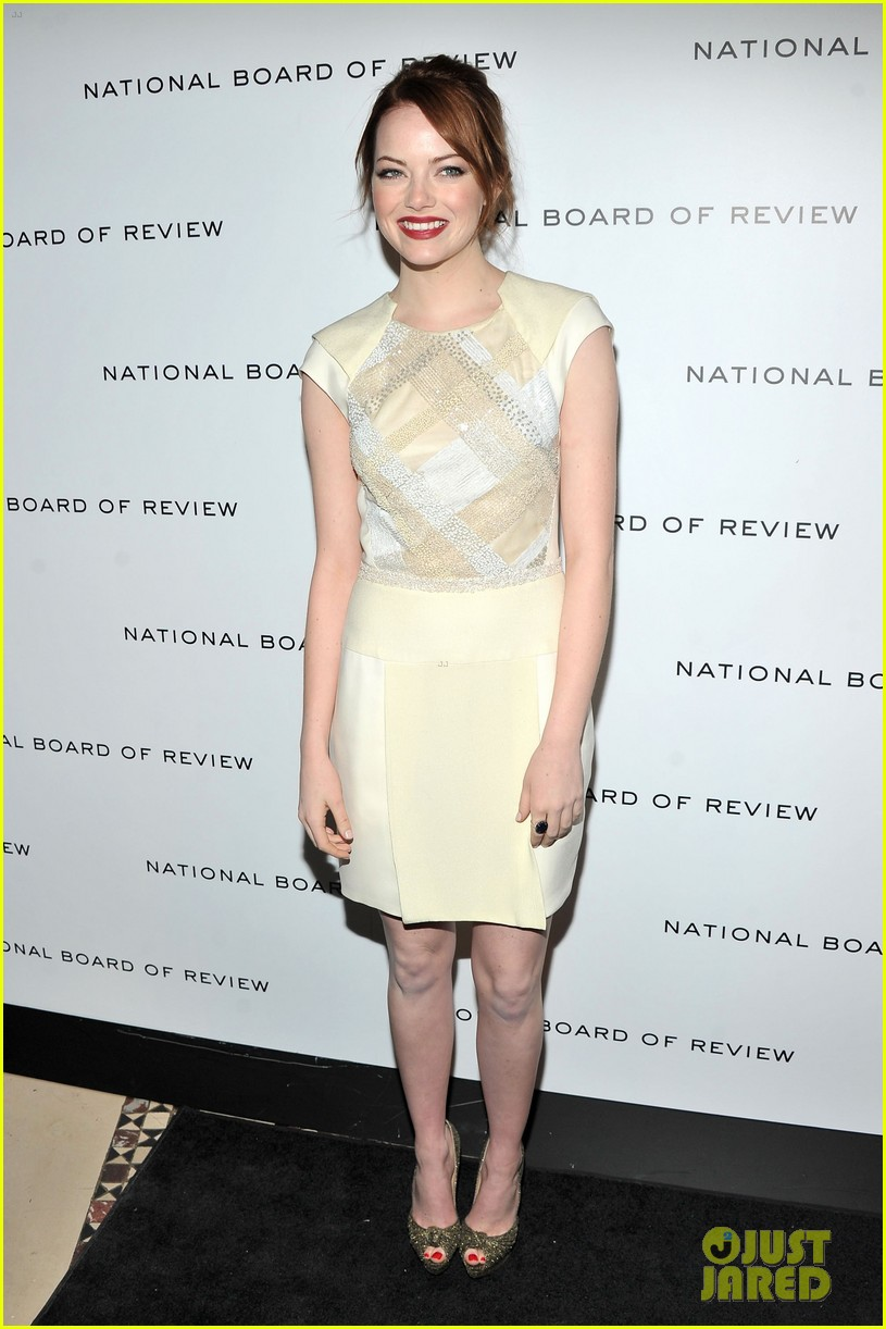 emma stone jessica chastain national board review 07