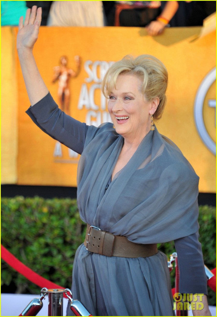 meryl streep glenn close sag awards 2012 05