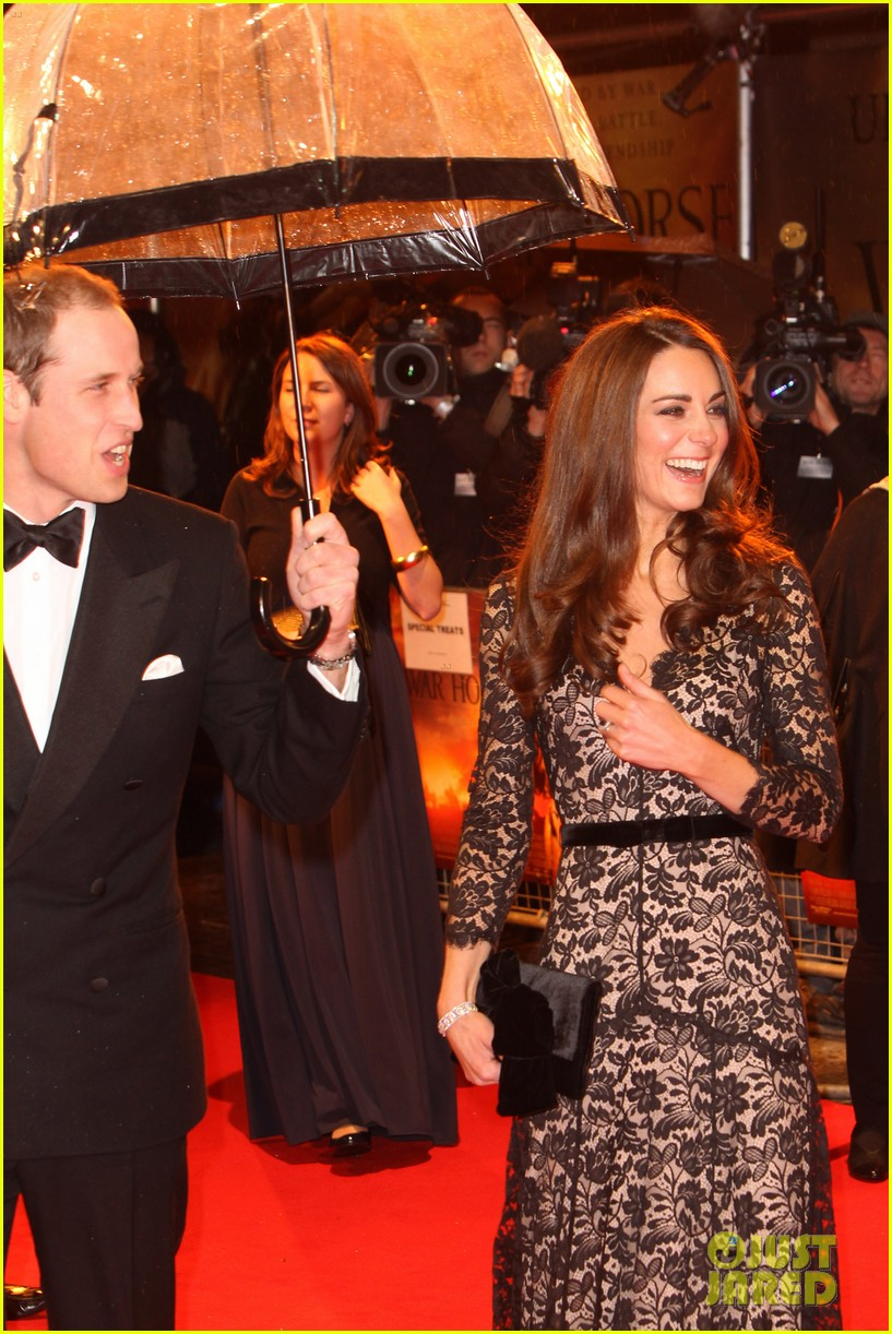 Prince William & Duchess Kate: 'War Horse' UK Premiere ...