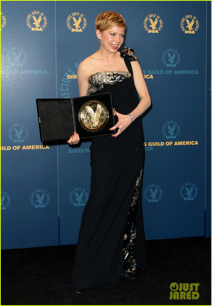 michelle williams dga awards 11