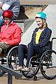 dianna agron kevin mchale wheelchairs glee 03
