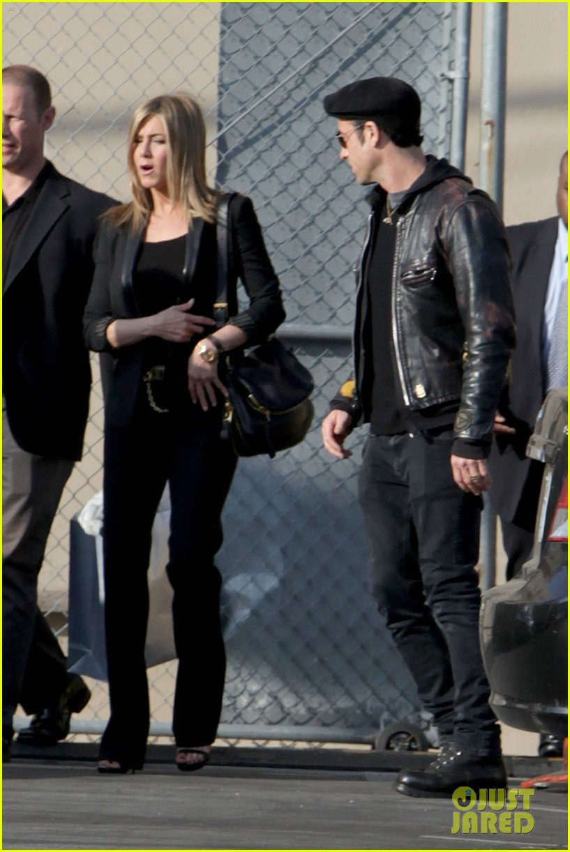 jennifer aniston kimmel justin theroux 24