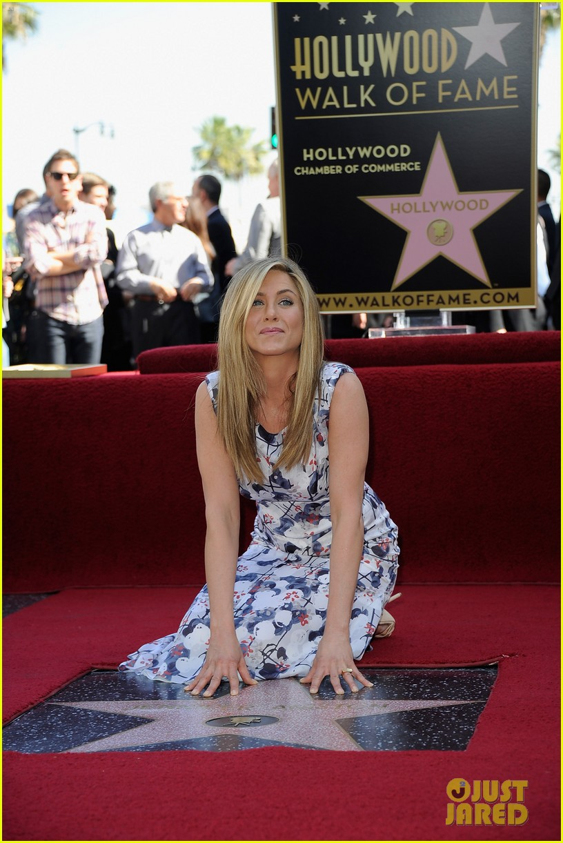 jennifer aniston star hollywood walk of fame 04
