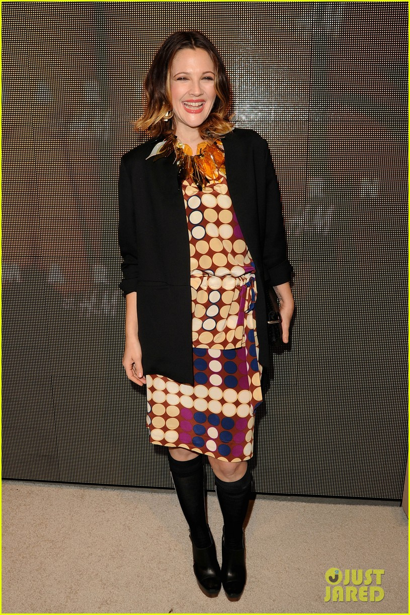 drew barrymore jessica chastain marni for hm 07