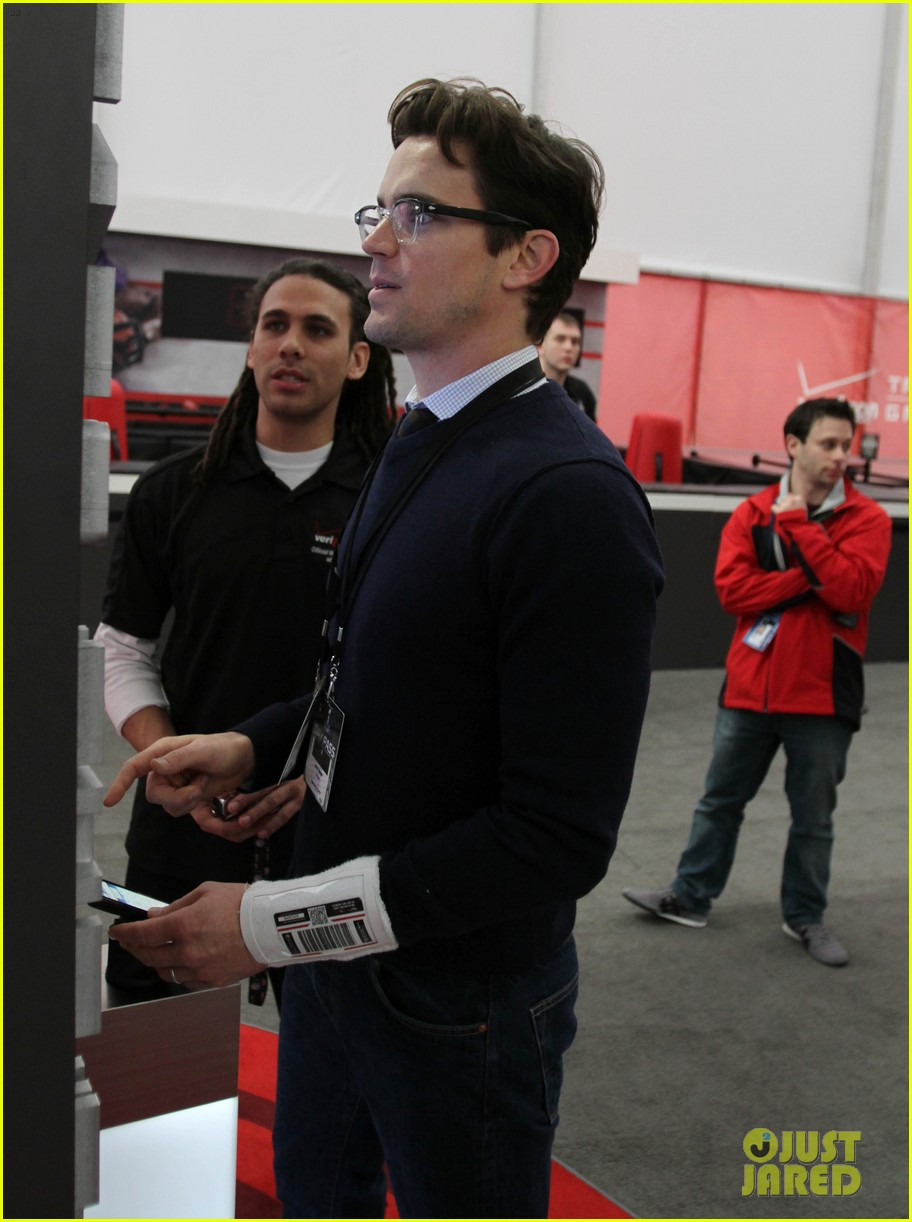 matt bomer super bowl events with son kit 062625271