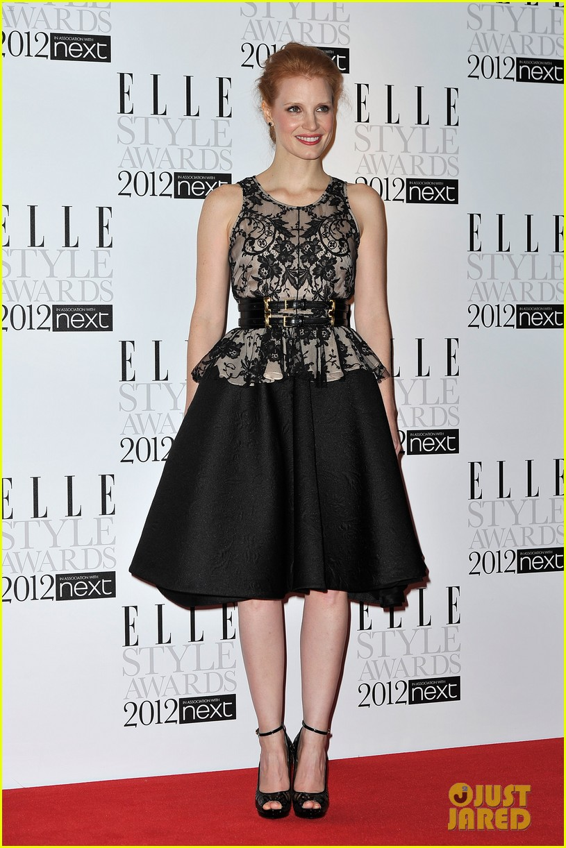 jessica chastain elle style awards 01