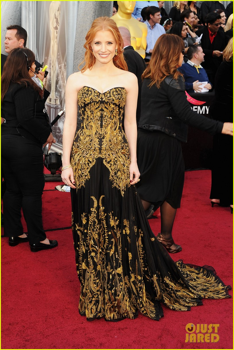 jessica chastain 2012 oscars 03