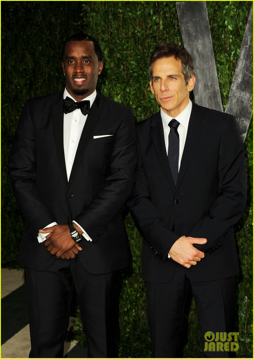 diddy ben stiller chris rock seth rogen vanity fair party 03
