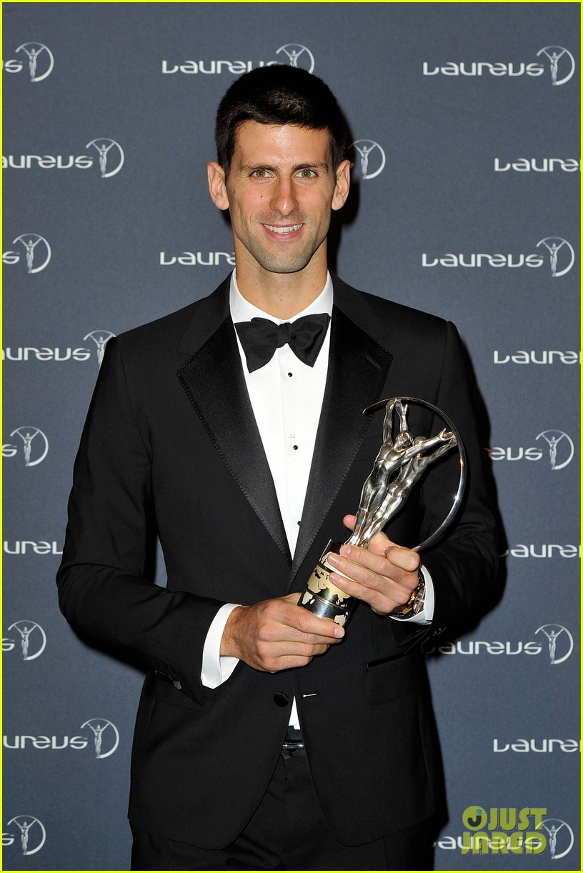 novak djokovic laureus 10