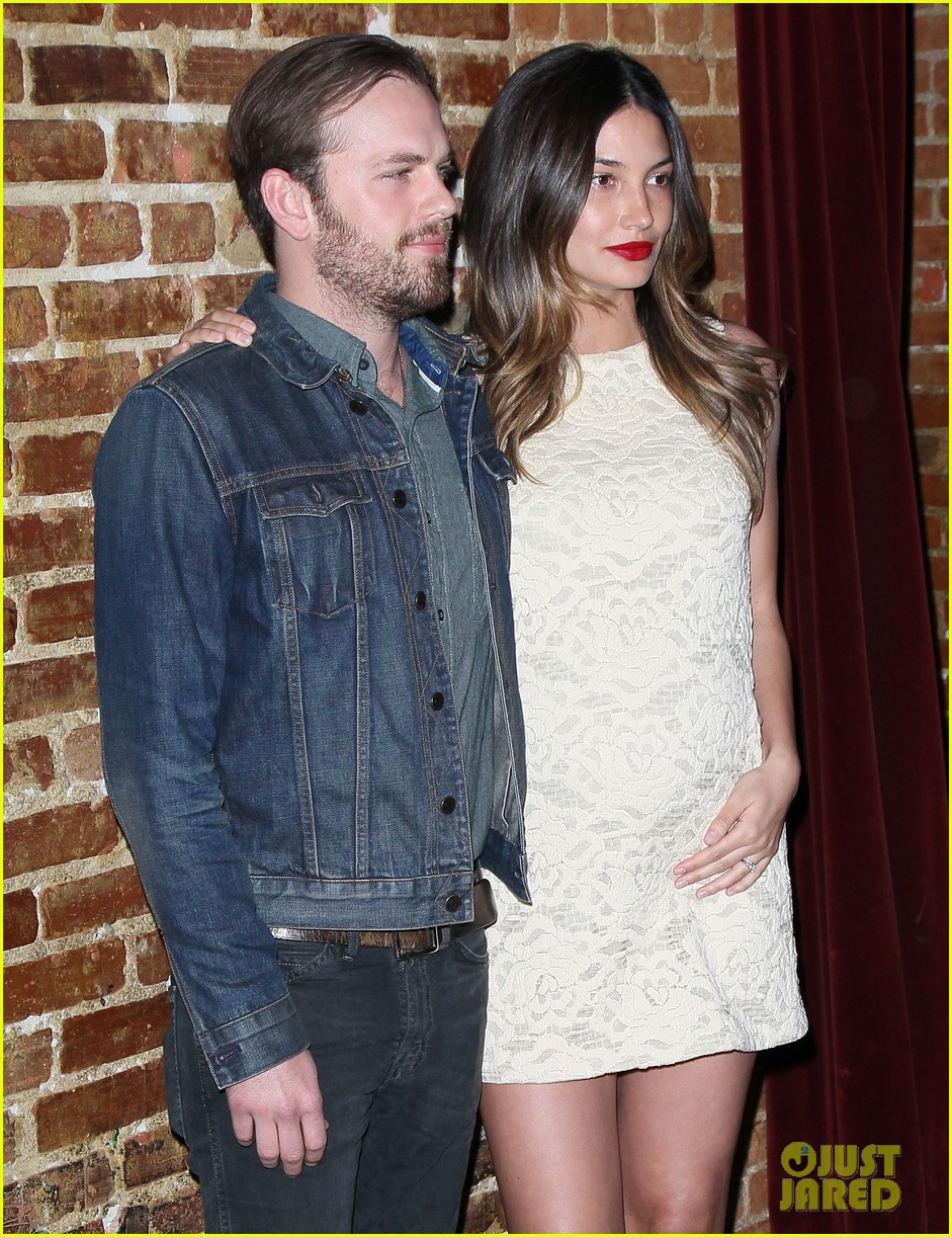 caleb followill lily aldridge eastbound premiere 05