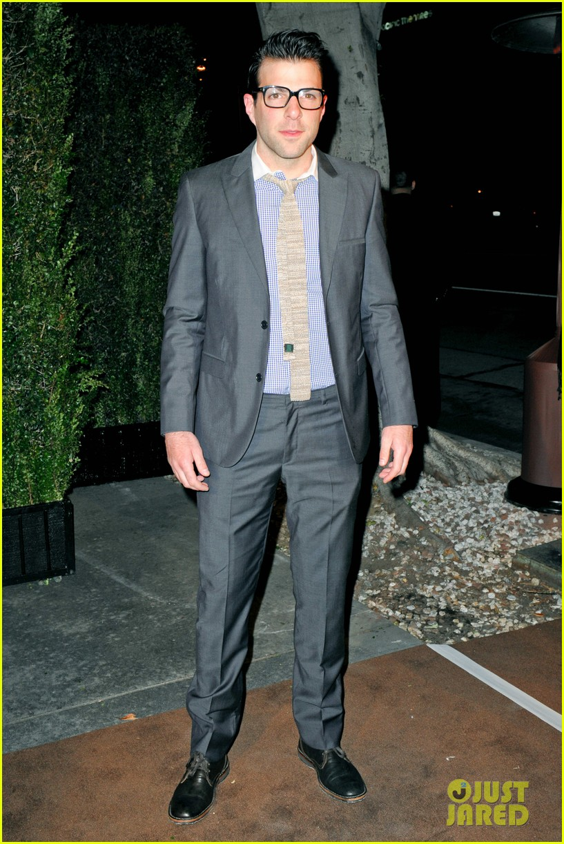 gaspard ulliel chanel pre oscar party zachary quinto 092633354