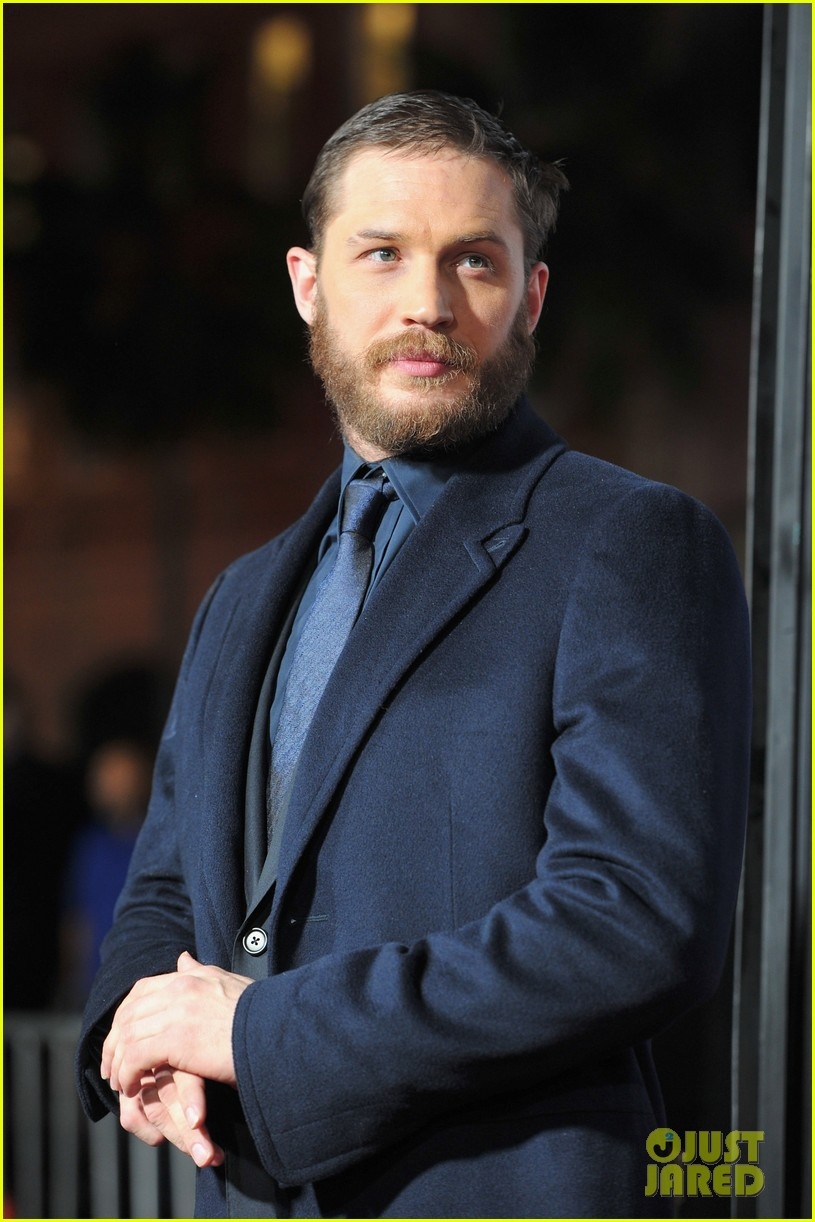tom hardy chris pine war premiere 01