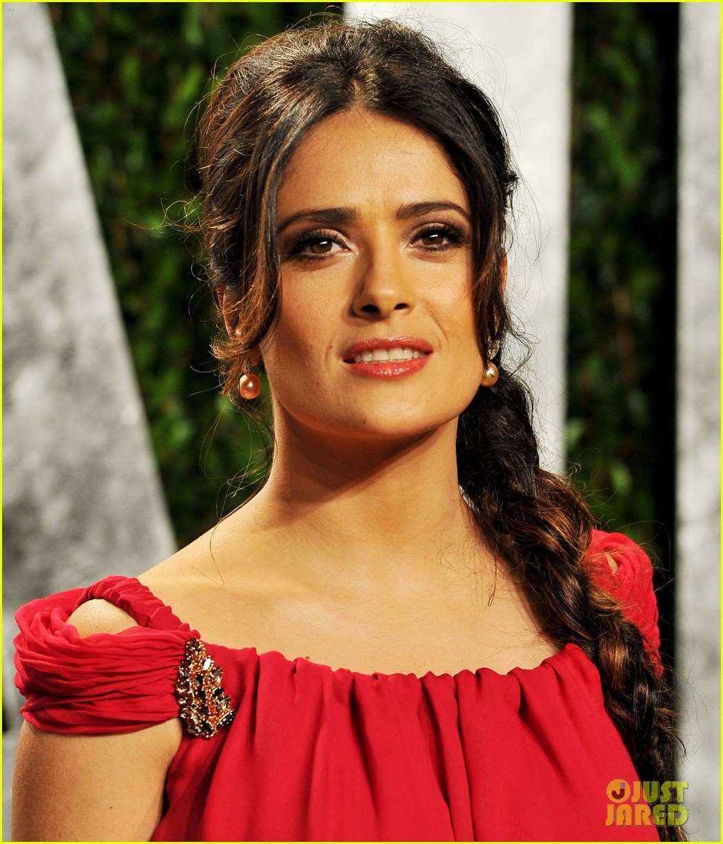 salma hayek vanity fair party 04
