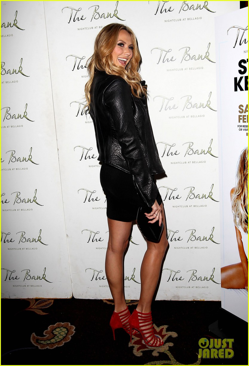 stacy keibler pre super bowl party las vegas 052625585