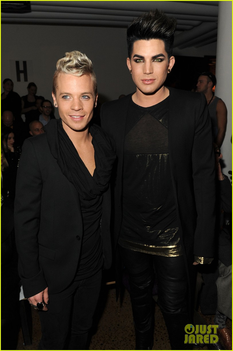 adam lambert sauli koskinen blonds fashion show 012629586