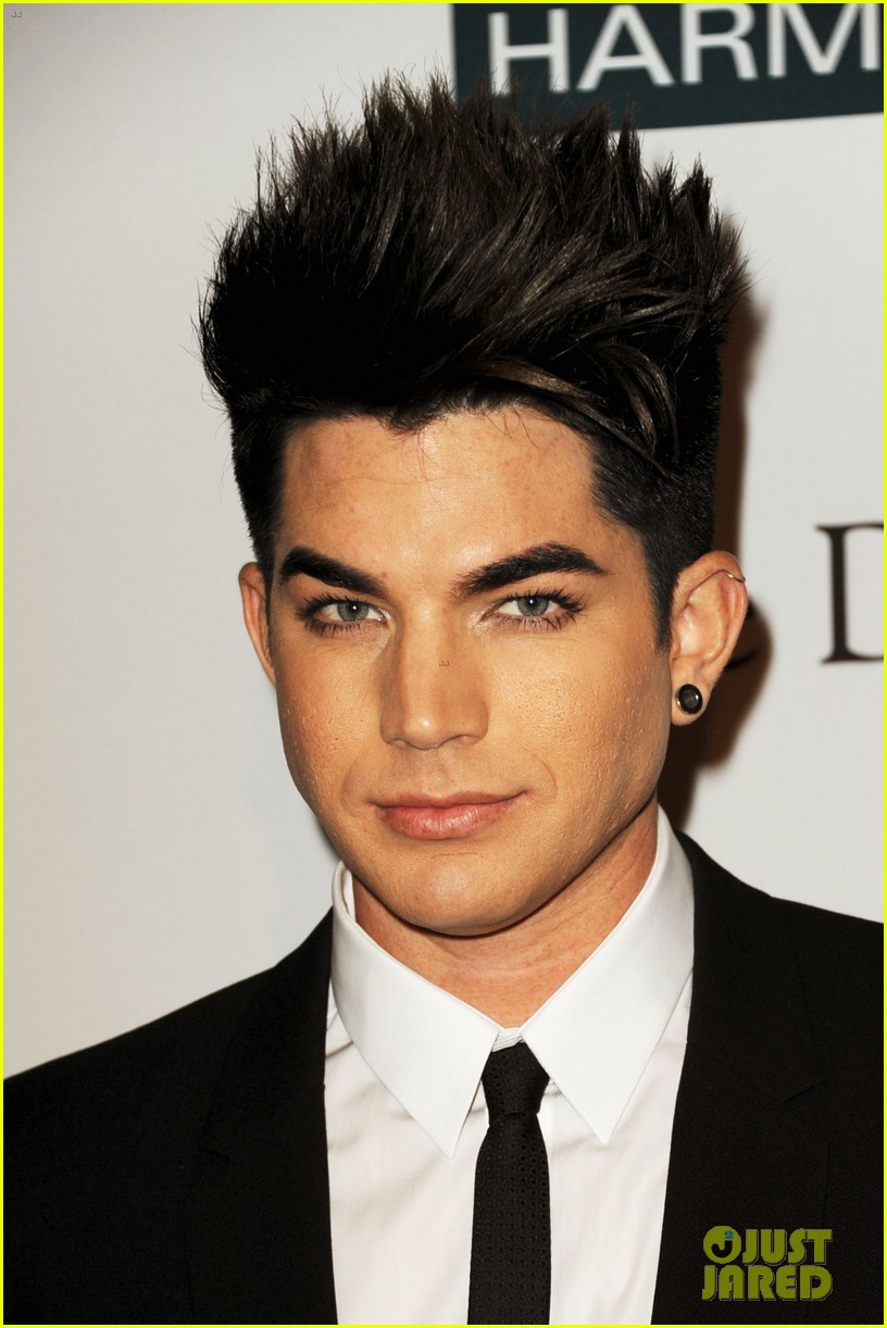 adam lambert clive davis party 01