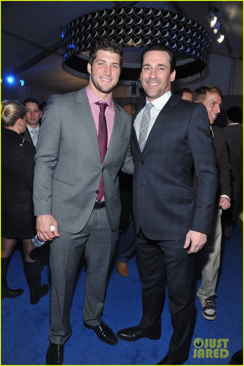 taylor lautner chris evans nfl honors with jon hamm 07