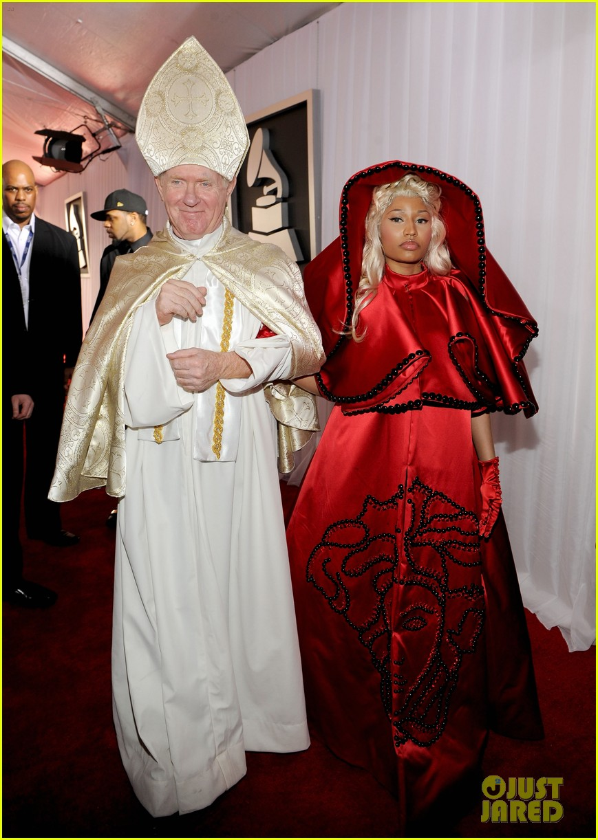 nick minaj grammy awards 2012 01