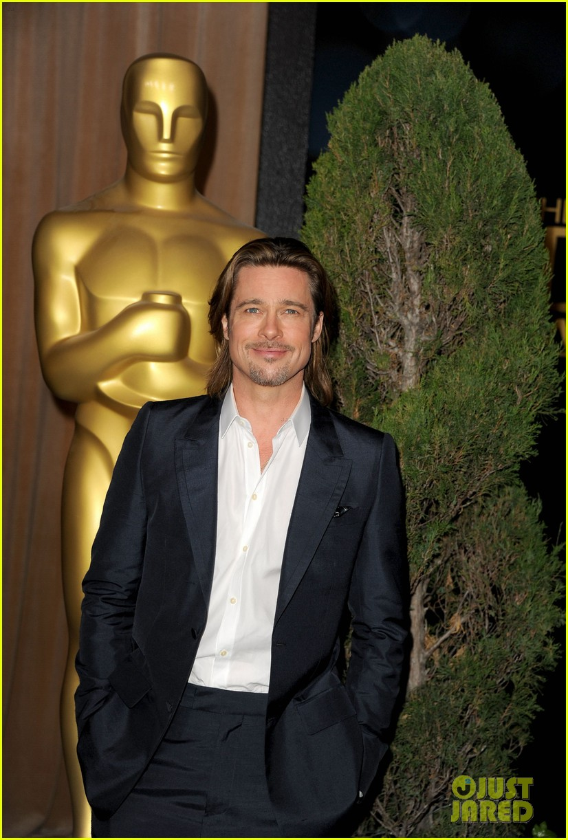brad pitt academy awards nomination luncheon 022625911
