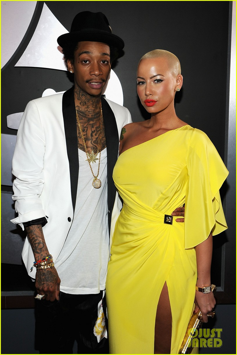 amber rose wiz khalifa grammys 01