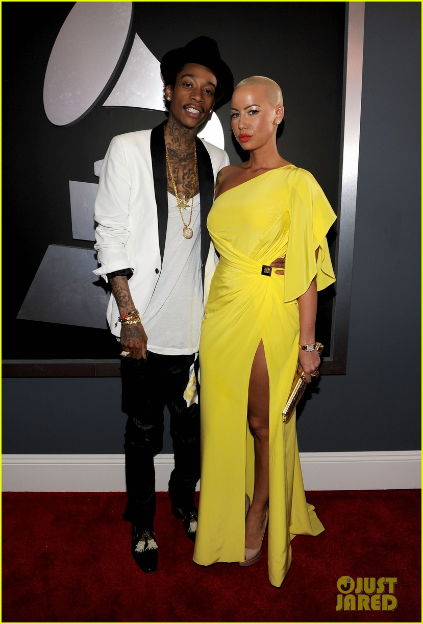 amber rose wiz khalifa grammys 07