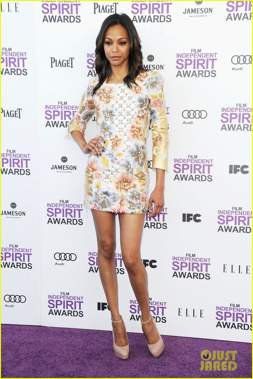 zoe saldana kate beckinsale film independent spirit awards 112632852