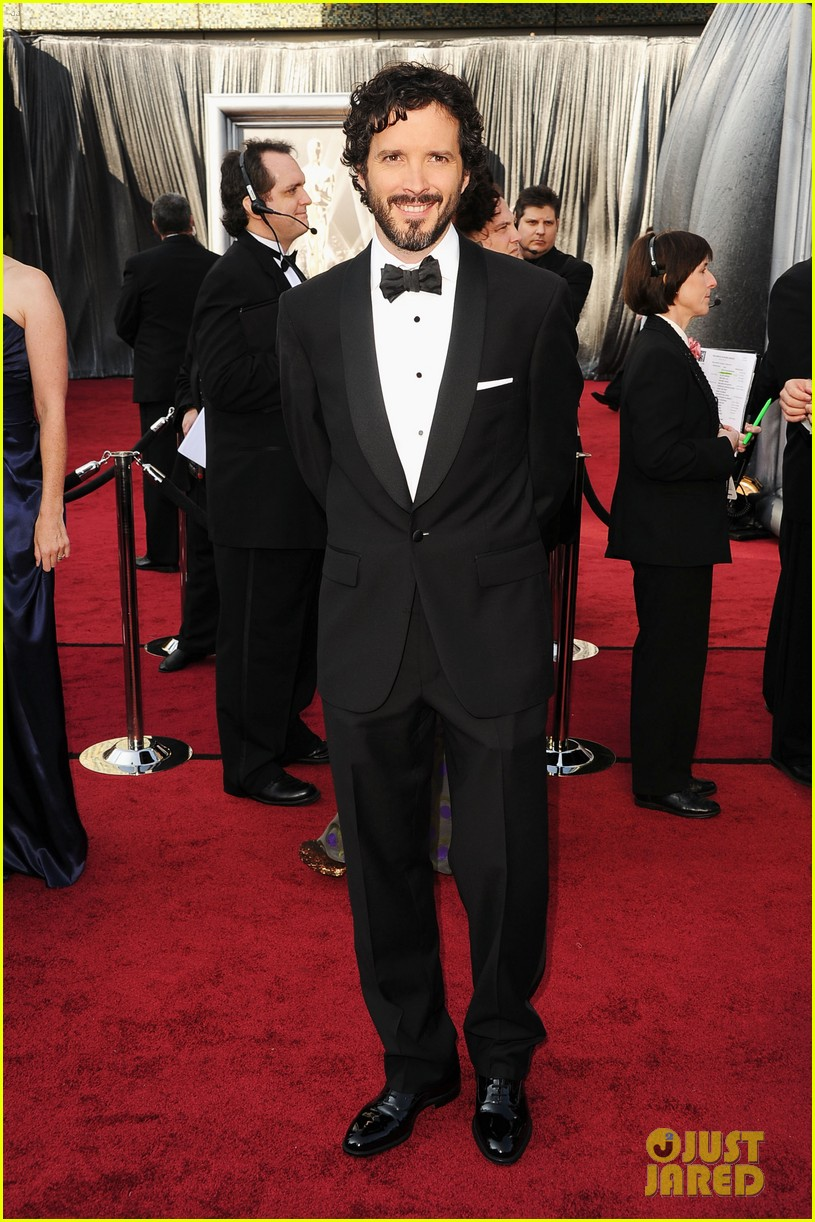 jason segal bret mckenzie oscars 2012 red carpet 03