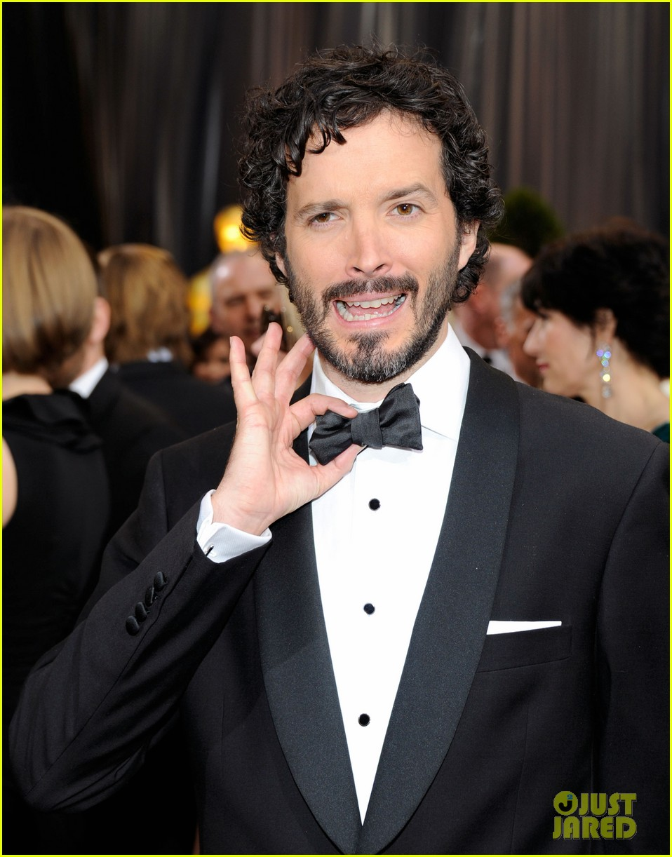 jason segal bret mckenzie oscars 2012 red carpet 06