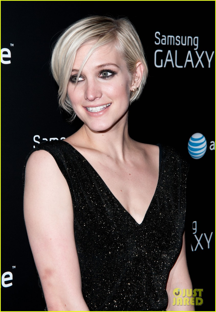 ashlee simpson vincent piazza fashion take note party 16